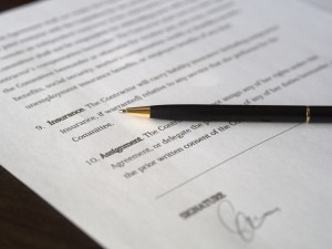 AIA contract