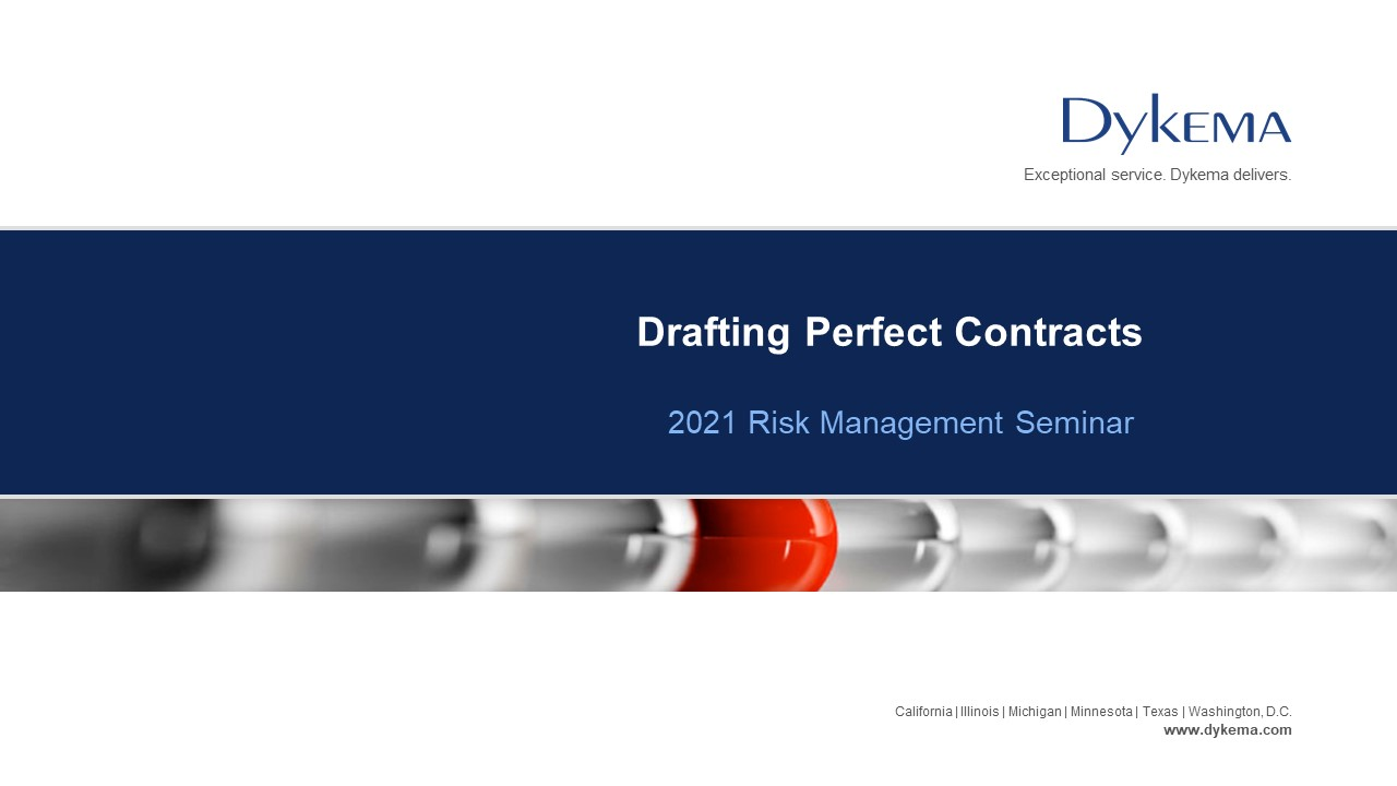 Jim Case_Drafting Perfect Contracts
